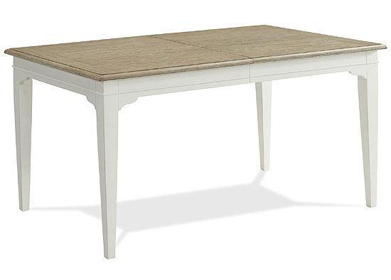 Myra Rectangular Leg Table - 59553 by Riverside furniture
