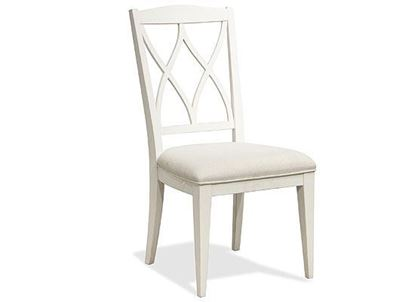Myra XX-Back Upholstered Side Chair - 59397 by Riverside furniture