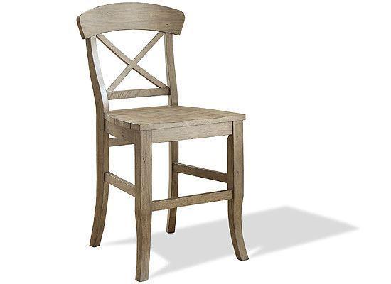 Regan X-Back Counter Stool - 27459 by Riverside furniture