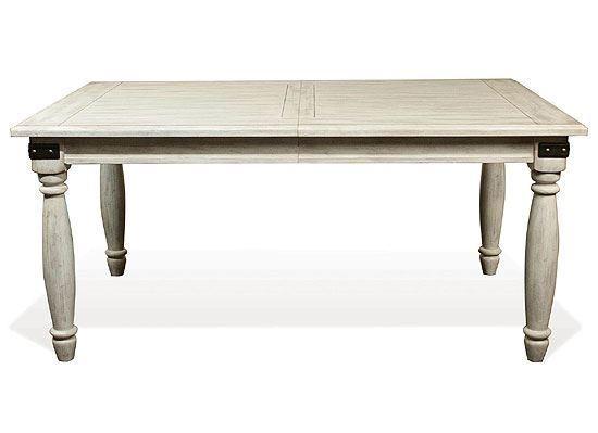 Regan Rectangular Dining Table - 27350 by Riverside furniture