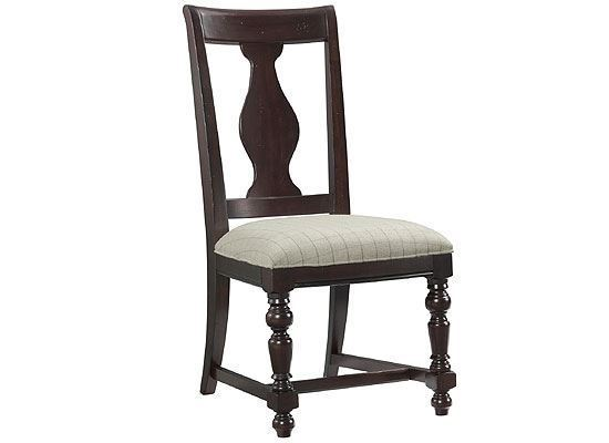 Rosemoor Splat Back Side Chair - 73257 by Riverside furniture