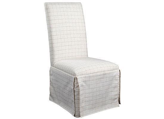 Rosemoor Upholstered Slipcover Chair - 73259 by Riverside furniture