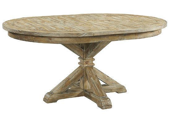 Sonora Round Dining Table (54952-54953) by Riverside furniture