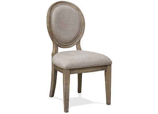 Sonora Upholstered Oval Side Chair - 54957 by Riverside furniture