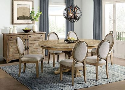 Sonora Dining Collection with Round Dining Table  by Riverside furniture