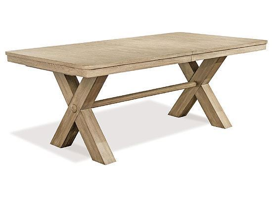 Sophie Trestle Dining Table (50348-50352) from Riverside furniture