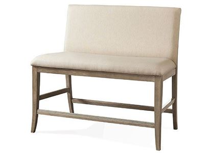 Sophie Upholstered Counter Bench - 50345 from Riverside furniture
