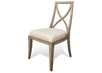 Sophie X-back Upholstered Side Chair - 50357 by Riverside furniture
