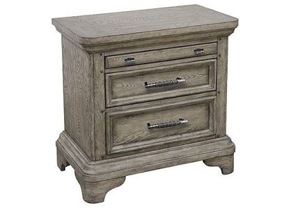 Bristol Three Drawer Nightstand - P152140 from Pulaski furniture