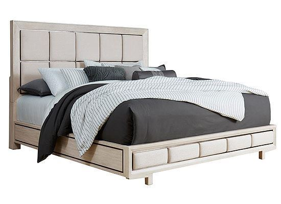 District 3 Upholstered Panel Bed (P151150-P151160) from Pulaski furniture
