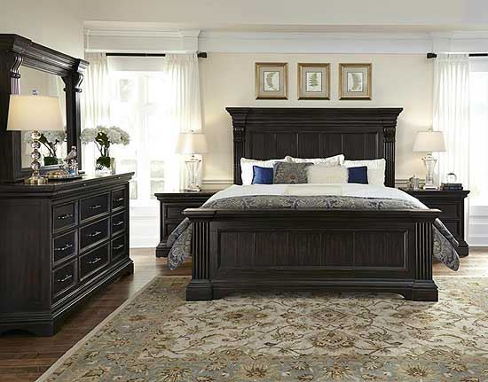 Caldwell Bedroom Collection by Pulaski furniture