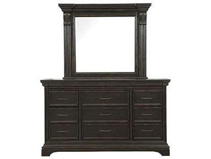 Caldwell Dresser - P012100 with Mirror from Pulaski furniture