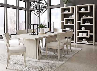 District 3 Dining Collection with Bookcase from Pulaski furniture