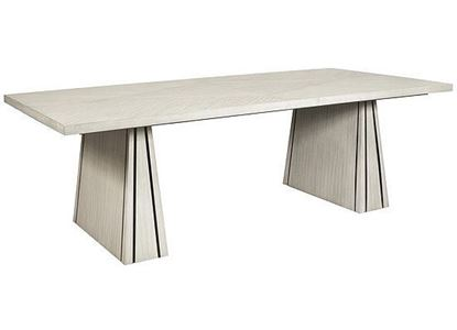 District 3 Rectangular Dining Table (P151240 - P151241) from Pulaski furniture