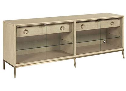 Lenox - Corsica Entertainment Console 923-585 by American Drew furniture