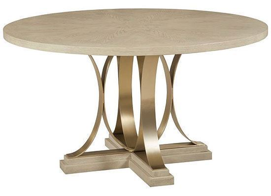 Lenox - Plaza Round Dining Table 923-701R by American Drew furniture
