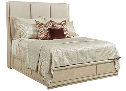 Lenox - Siena King Upholstered Bed Complete 923-316R by American Drew