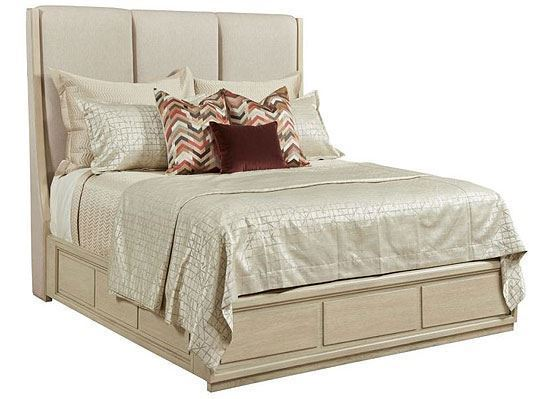 Lenox - Siena Queen Upholstered Bed Complete 923-313R by American Drew