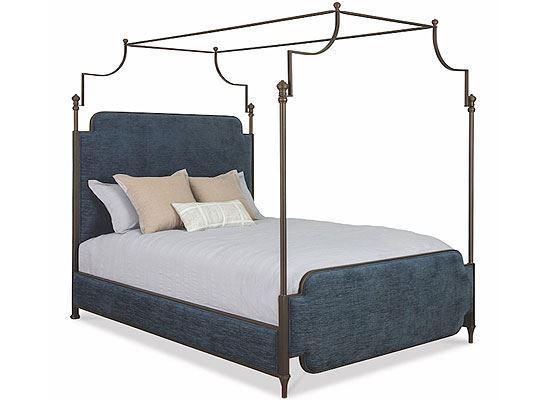 Wesley Allen Kenton Canopy Iron Bed - 1275