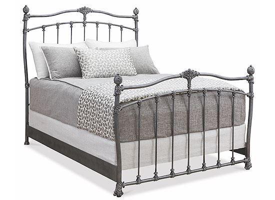 Wesley Allen Merrick Iron Bed - 1042
