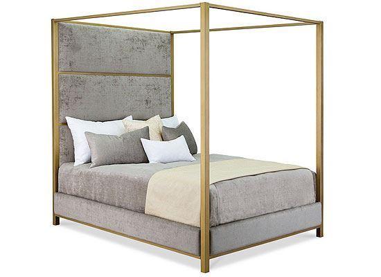 Sansa Upholstered Iron Bed - 1239