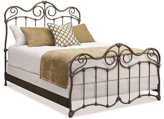 Wesley Allen Stonehurst Iron Bed - 7162