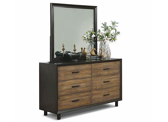 Alpine Dresser with mirror W1083-860 from Flexsteel