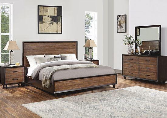 Alpine Bedroom Collection from Flexsteel furniture