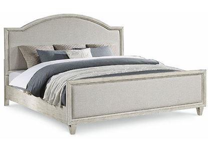 Newport King Bed W1082-90K from Flexsteel furniture