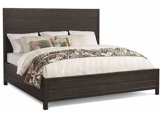 Cologne King Bed W1080-91K from Flexsteel furniture