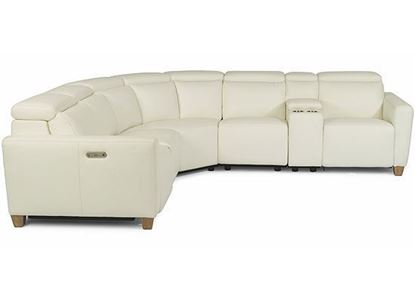 Astra Power Reclining Sectional with Power Headrest 1309-SECT from Flexsteel