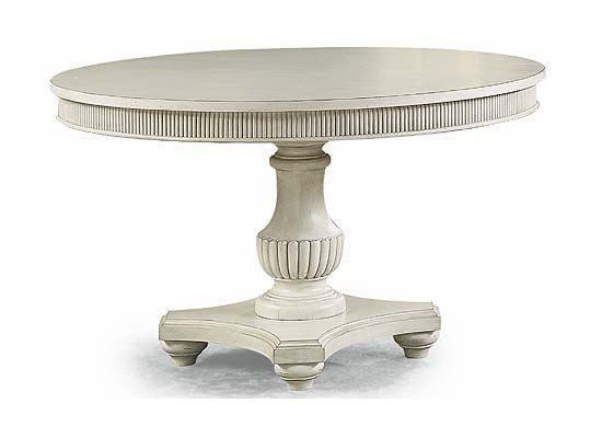 Harmony Round Dining Table W1070-834 from Flexsteel furniture