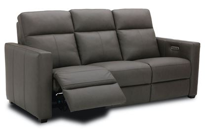 Broadway Power Reclining Leather Sofa with Power Headrest 1032-62PH from Flexsteel furniture