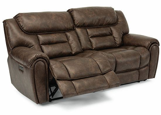 Buster Power Reclining Loveseat with Power Headrest 1880-60PH from Flexsteel furniture