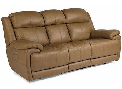 Elijah Power Reclining Sofa with Power Headrest  and Lumbar 1465-62PH from Flexsteel furniture