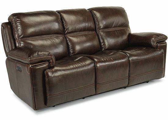 Fenwick Power Reclining Sofa with Power Headrests 1659-62PH from Flexsteel furniture