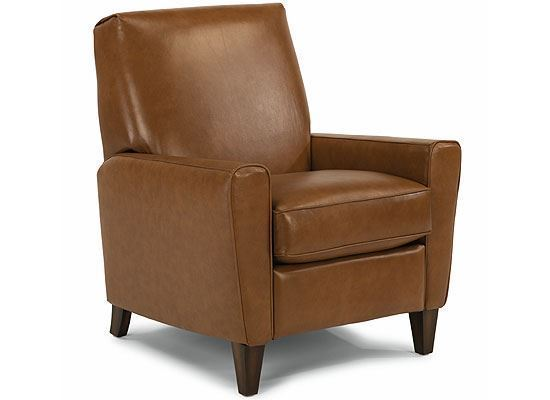 Digby High Leg Leather Recliner Model 3966-503 by Flexsteel furniture