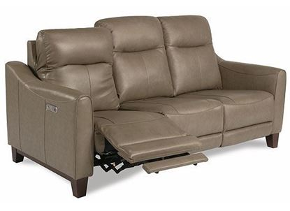 Forte Power Reclining Sofa with Power Headrests 1197-62PH from Flexsteel furniture