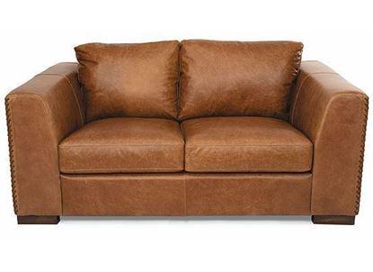 Hawkins Leather Loveseat 1347-20 from Flexsteel furniture