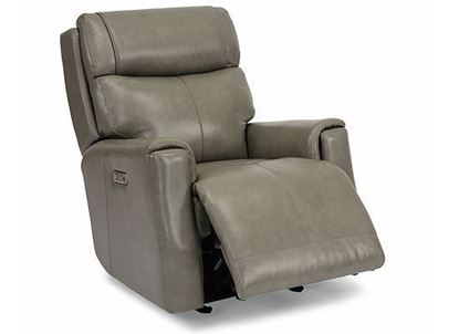 Holton Power Gliding Leather Recliner with Power Headrest 1836-54PH from Fflexsteel furniture