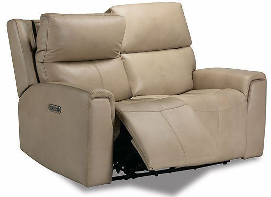 Jarvis Power Reclining Loveseat with Power Headrests 1828-60PH from Flexsteel furniture