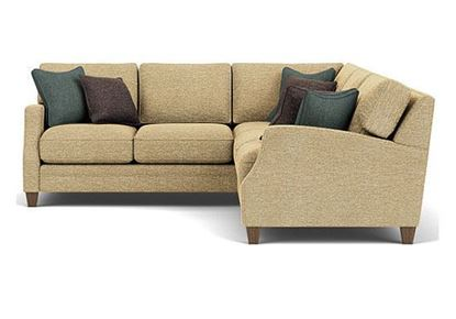 Lennox Sectional (7564-SECT) from Flexsteel furniture