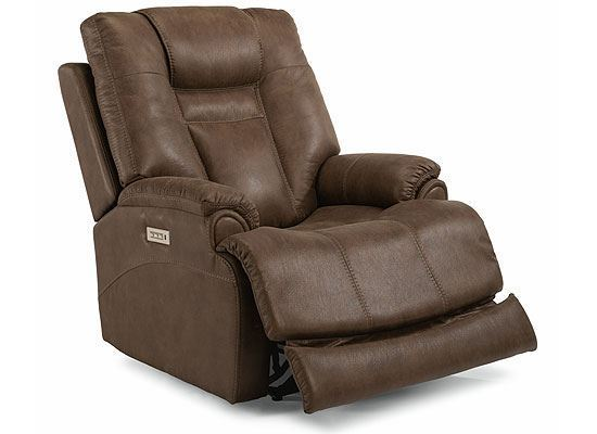 Marley Power Recliner with Power Headrest and Lumbar 1714-50PH from Flexsteel furniture