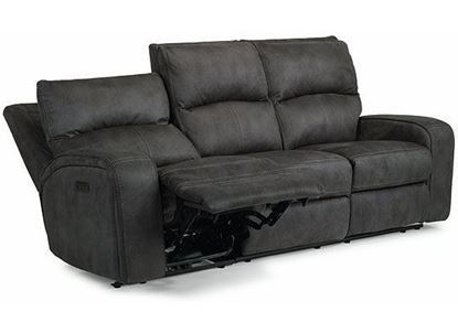 Nirvana Power Reclining Sofa with Power Headrests 1650-62PH from Flexsteel furniture