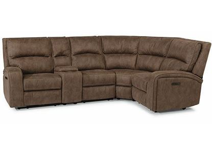 NIRVANA Reclining Sectional with Power Headrests 1650-SECTPH from Flexsteel furniture