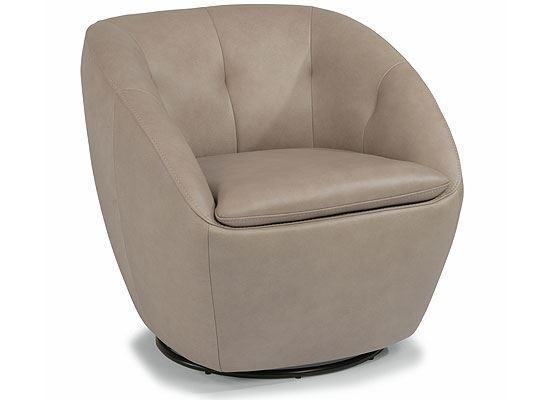WADE Leather Swivel Chair 1855-11 from Flexsteel