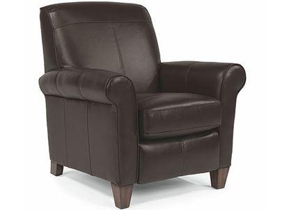 Dana Leather High Leg Recliner B3990-503 from Flexsteel furniture