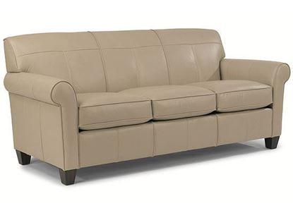 Dana Leather Sofa B3990-31 from Flexsteel furniture